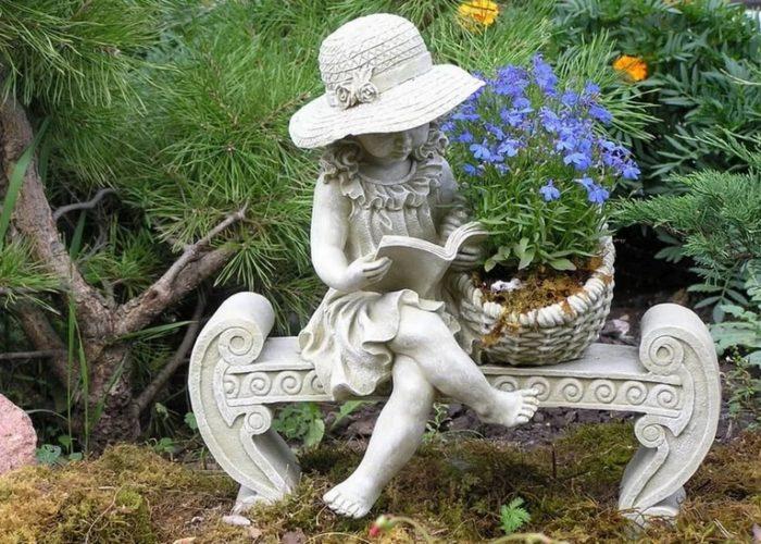 Садовая композиция